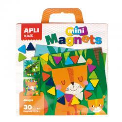 В Джунглата с цветни триъгълници, мини магнитна игра