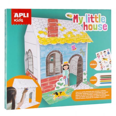 Сглоби и оцвети Моята малка къща