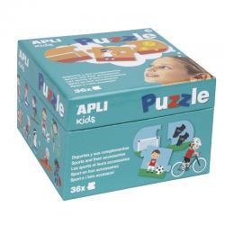 APLI 17239 Спортът и неговите уреди - детски образователен пъзел