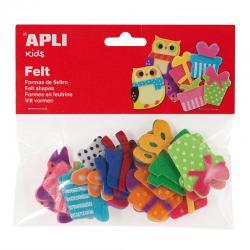 APLI 13784 Подаръци от филц, 18 броя