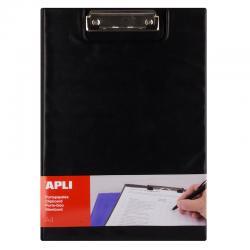 APLI 17204 Клипборд с капак с джоб за А4, текстил