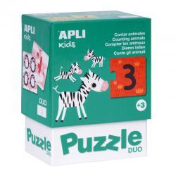 APLI 17420 Пъзел Колко са животните