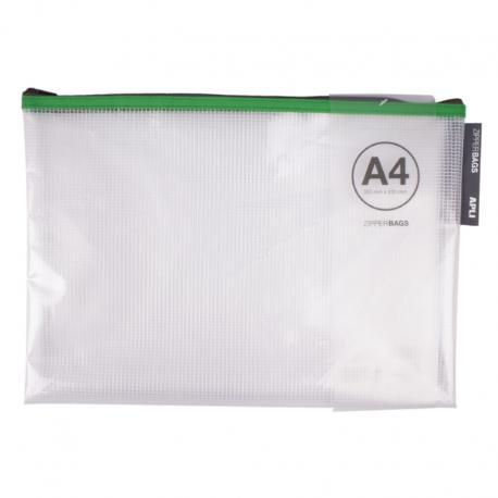 Apli Подсилена чанта папка с размер А4 с цип