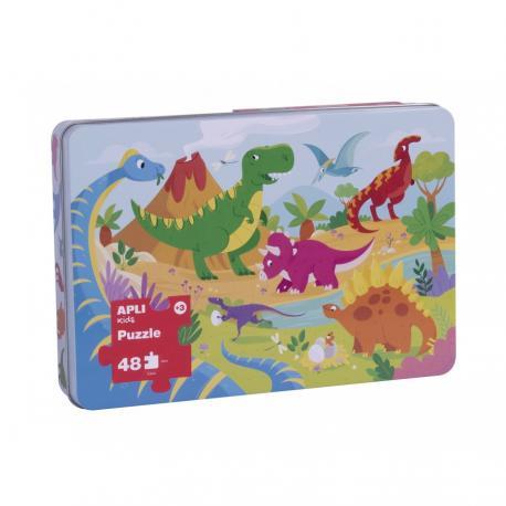 Пъзел XL Динозаврите
