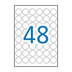 APLI 15092 Бели водоустойчиви полиестерни етикети за лазерни принтери и копирни машини