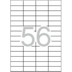 Multi 3-10491 Бели самозалепващи етикети