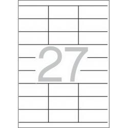 Multi 3 - 04722 Бели самозалепващи етикети