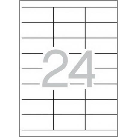 Multi 3 - 10495 Бели самозалепващи етикети