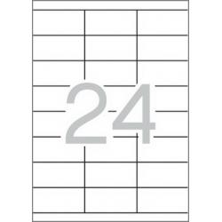 Multi 3 - 04703 Бели самозалепващи етикети