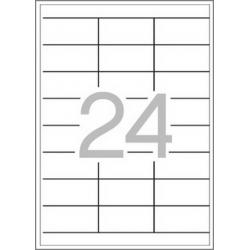 Multi 3 - 04723 Бели самозалепващи етикети