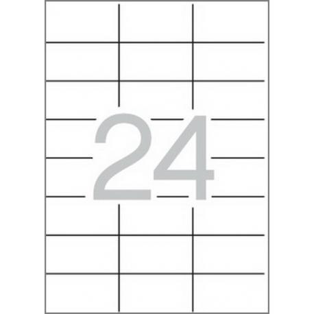 Multi 3 - 04704 Бели самозалепващи етикети