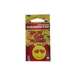 Почистващ микрофибърен стикер за телефон - Емоджи Влюбен