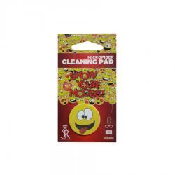 Почистващ микрофибърен стикер за телефон - Емоджи Crazy