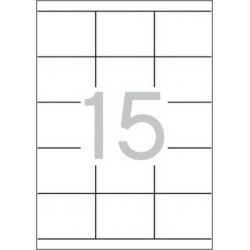 Multi 3 - 10496 Бели самозалепващи етикети
