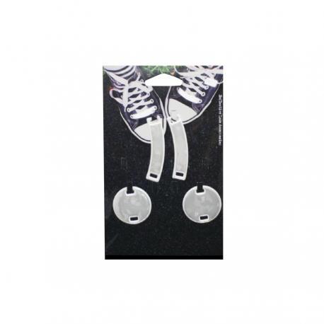Комплект аксесоари за обувки - Бял кръг