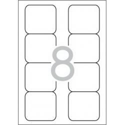 Multi 3 - 10497 Бели самозалепващи етикети