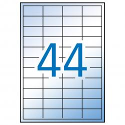 APLI 12962 водоустойчиви полиестерни етикети, матово прозрачни, за лазерни принтери и копирни машини