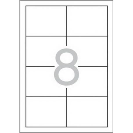 Multi 3 - 10498 Бели самозалепващи етикети