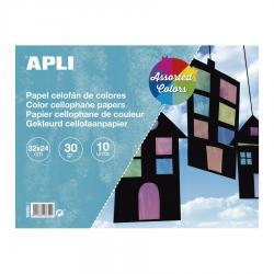 APLI 16650 Блокче - Цветен целофан
