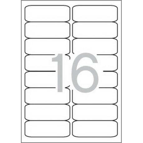 Multi 3 - 4727 Бели самозалепващи етикети