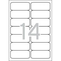 Multi 3 - 04728 Бели самозалепващи етикети