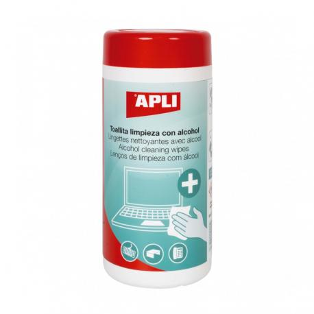 APLI 18566 Антибактериални кърпички за почистване на офис техника