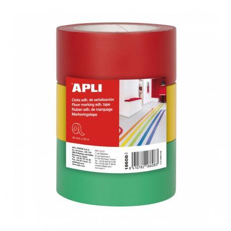 APLI 18608 Самозалепващи ленти за подова маркировка
