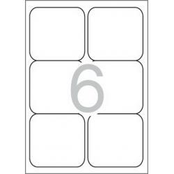 Multi 3 - 10500 Бели самозалепващи етикети