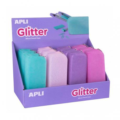 APLI 18216 Силиконов несесер APLI Glitter