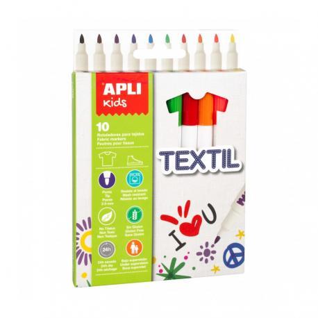 APLI 18220 Маркери за рисуване върху текстил