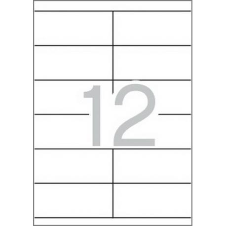 Multi 3 - 04711 Бели самозалепващи етикети