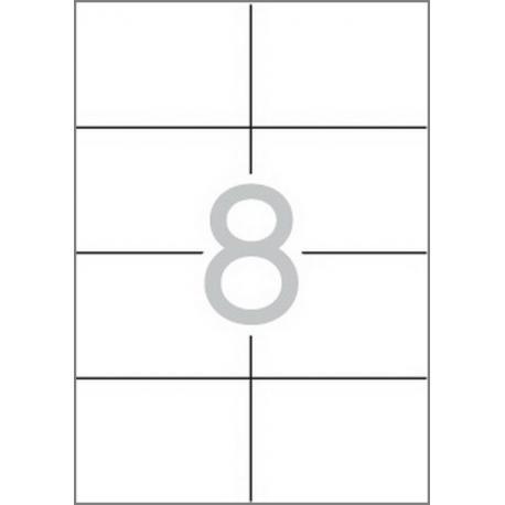 Multi 3 - 04712 Бели самозалепващи етикети