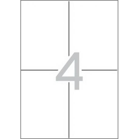 Multi 3 - 04713 Бели самозалепващи етикети