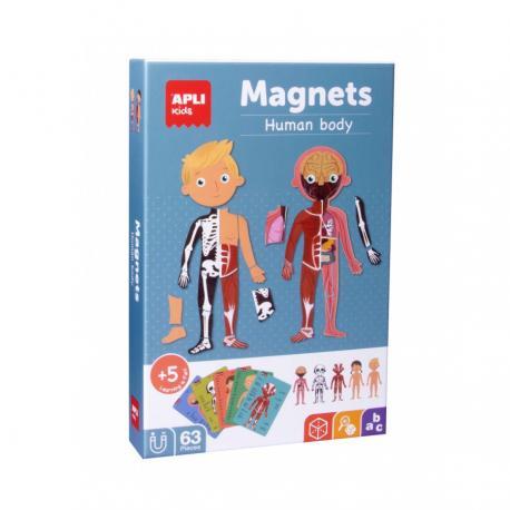 Магнитна игра Човешкото тяло