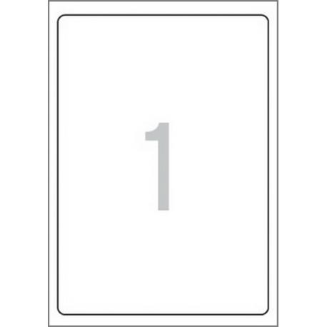 Multi 3 - 10504 Бели самозалепващи етикети