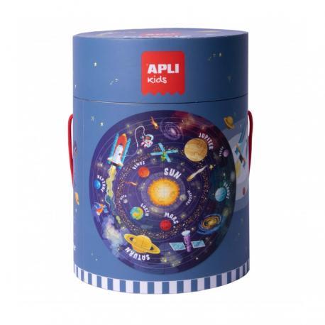 Кръгъл пъзел Слънчевата система, 48 елемента