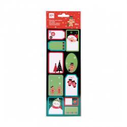 APLI 18553 Коледни етикети Джинджифилово човече