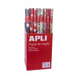 APLI 14003 Опаковъчна Коледна хартия 2 м х 0.70м.