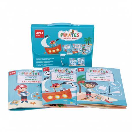 Дисплей с 6 чантички с книжки със забавни игри