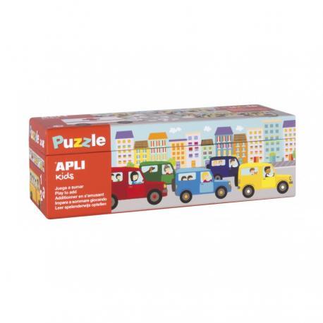 APLI Kids Забавна математика с животни - образователен пъзел