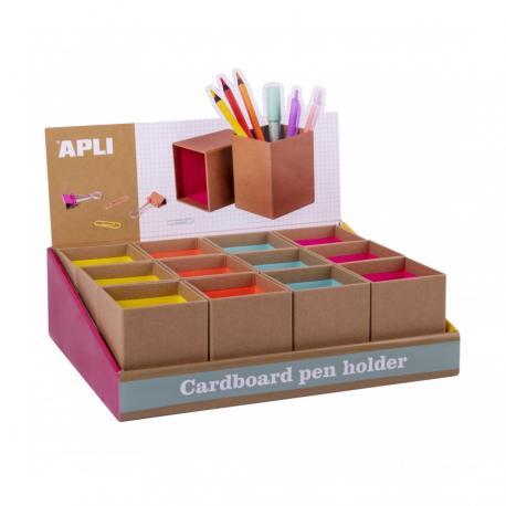Крафт моливник APLI Fluor Collection
