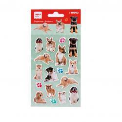 APLI 18563 Самозалепващи стикери за декорация - Кучета-реалистични