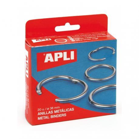 APLI 00452 Отварящи се метални халки