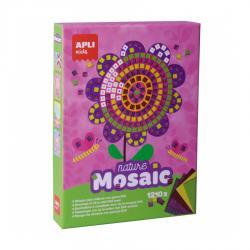 Детска мозайка - творчески комплект за картина на тема Пролет
