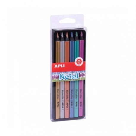 Джъмбо моливи - Металик