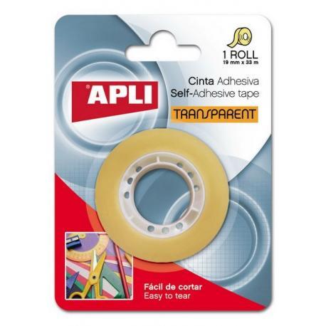 APLI 11166 Прозрачна самозалепваща лента