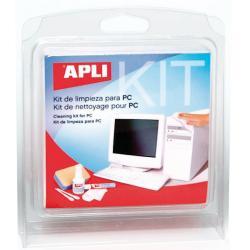 Apli 11639 Почистващ комплект за офис техника