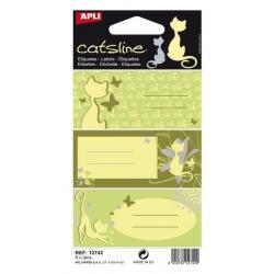 APLI 12742 Ученически етикети, серия Котките