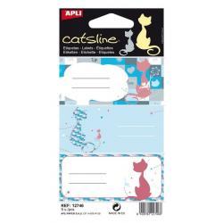 APLI 12746 Ученически етикети, серия Котките