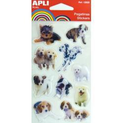 APLI 12831 Самозалепващи стикери за декорация - Кучета